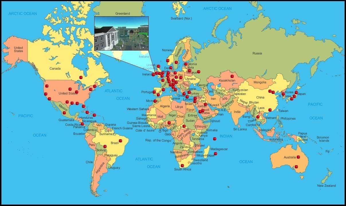 Where is the great wall of china on a world map new for Great pictures of the world